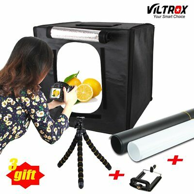 60*60cm Mini Portable LED Professional Photography Studio Light Box Tent Kit