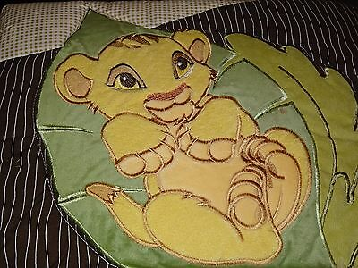 DISNEY The Lion King 5 pc BABY COT (Jnr Bed) QUILT SET, SHEETS, BOO BLANKET BNIP
