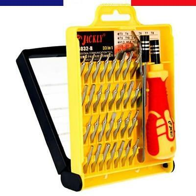 Kit Outils Precision Magnetique Avec Pince 33 In 1