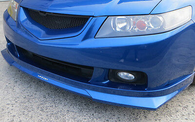 Honda Accord 2003-2005 H - Style Front Lip - Carbon Culture * High Quality