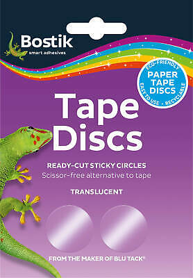 Bostik Blu Tack Sticki Tape Circles Discs  glue adhesive 120 per pack 805941