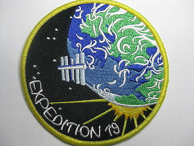 U.s. Raumfahrt Nasa Space Aufnäher Patch Iss 19 Mission Fasching Karneval