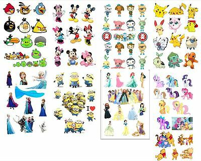Frozen octonauts Minion pokemon mickey matt sticker for girl free dilivery