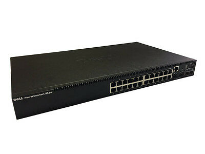 DELL PowerConnect 5524 24 Port Managed Switch L2 L3 10Gb FULL WARRANTY 469-3414