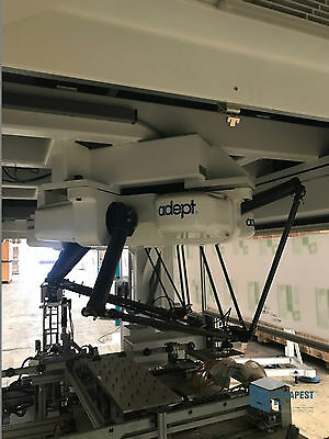 Adept Omron Quattro s650 Parallel Roboter High Speed Pick & Place Delta Robot