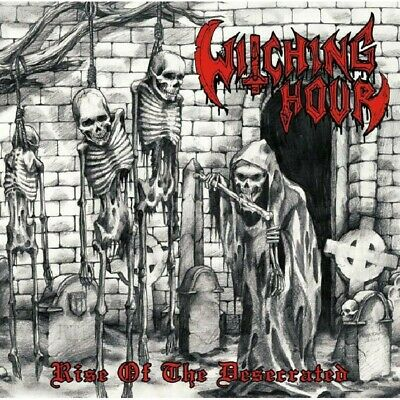 WITCHING HOUR - Rise Of The Desecrated NEU!! BLACK / THRASH