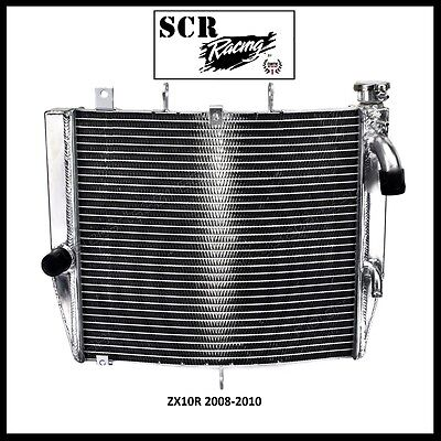 Kawasaki ZX10R ZX10  Racing Super Cooling Radiator 2008-2010