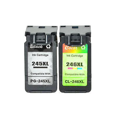 Compatible with Canon 1PK PG 245XL + 1PK CL 246XL Ink Cartridge for PIXMA MX492