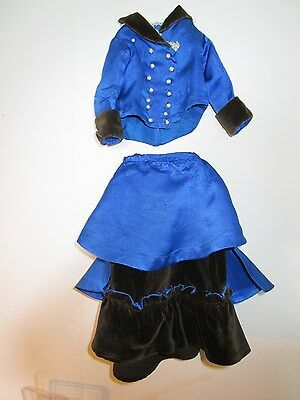 "Antique dress for 18"" french fashion doll"