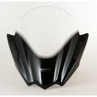 "MRA Racing-Screen for Naked-Bikes ""RNB"" for Suzuki GSR 600 smoke grey"