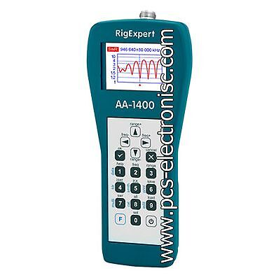 RigExpert AA-1400 antenna analyzer, fast delivery, 3 years warranty, outside EU