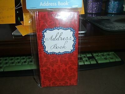 Hardcover Address Book/Red-White-Blue