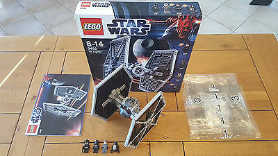 "LEGO STAR WARS 9492 ""TIE Fighter"", 100% COMPLET + BOITE, COMME NEUF !!!"