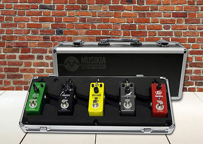 PACK 5 PÉDALES D'EFFETS GUITARE Looper - Flanger - delays - distortion - chorus