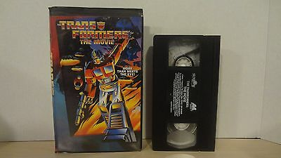 Vintage Transformers The Movie VHS 1995 Sunbow Hasbro Canada Black Clamshell #2