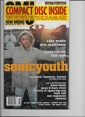 Sonic Youth AMAZING NM/MINT SET OF THREE MAGAZINES FEATURING SONIC YOUTH COVERS!