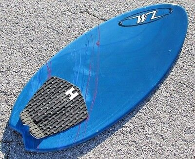 NEW Wave Zone Fish with Traction - Skimboard - Blue - Fiberglass & Foam