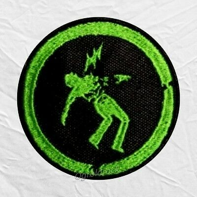 Green Day Warning Logo Embroidered Patch Rock Band Billie Joe Armstrong Album