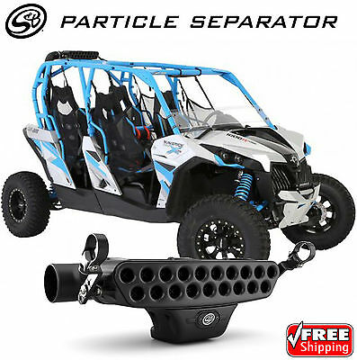 S&B Filters 76-2003 Particle Separator for 15-17 Can-Am Maverick 1000 Turbo UTV