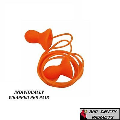 Howard Leight Qd30 Quiet Reusable Corded Ear Plugs Nrr 26 (25 Pair Pack)