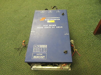 Saftronics DC6 Series Solid State DC Drive KDC6-126-4 75HP Used