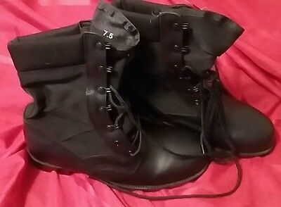 RO-SEARCH Boots Men's 7.5 Med.military black Tactical & Duty Footwear Hunting