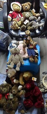 J4c Huge Lot of 16 Boyd Bears Gorgeous Collection Plush figures! Super Deal