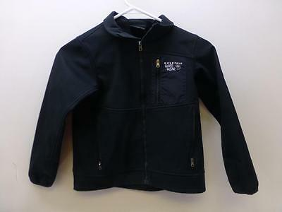 MOUNTAIN HARDWEAR 89674 black zip Jacket coat ski snowboard youth kids sz Small