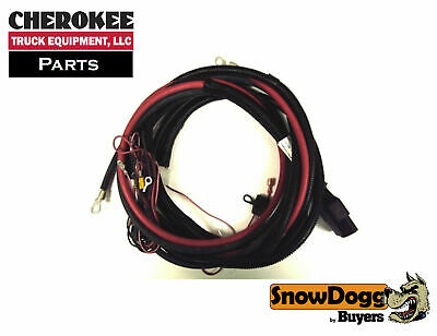 snowdogg/buyers products 16160300, truck side control harness