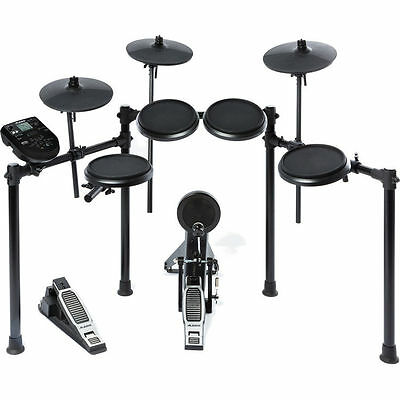 "Alesis Nitro Kit - Electronic Drum Set with 8"" Snare, 8"" Toms, and 10"" Cymbals"
