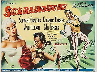 """Scaramouche 16"""" x 12"""" Reproduction Movie Poster Photograph"""