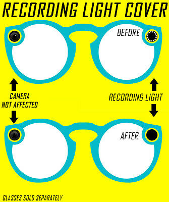 2-Pack Recording Light Cover for Snapchat Spectacles
