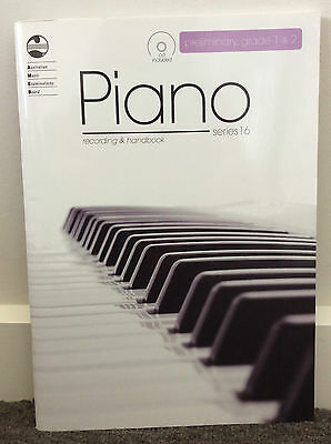 AMEB Piano - Series 16 - CD Recording and Handbook - Preliminary, Grade 1 and 2
