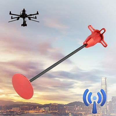 1pc 4-Axis GPS Foldable Antenna Holder Base Signal Bracket for Quadcopter Red GX
