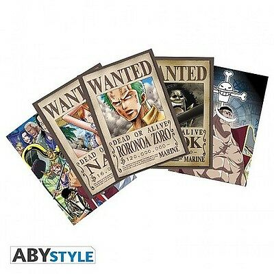 ONE PIECE postcards: Zoro Wanted and Co