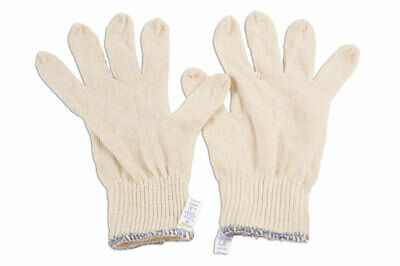 Laser Tools 6632 Cotton Underliner Gloves (Pack of 10 pairs)