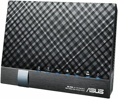Asus DSL-AC56U AC1200 1200Mbps Dual Band Wireless Gigabit ADSL VDSL Modem Router