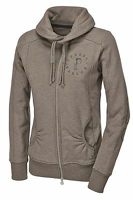 Pikeur Sweatjacke Zoe taupe melange Classic Collection Herbst / Winter 2016