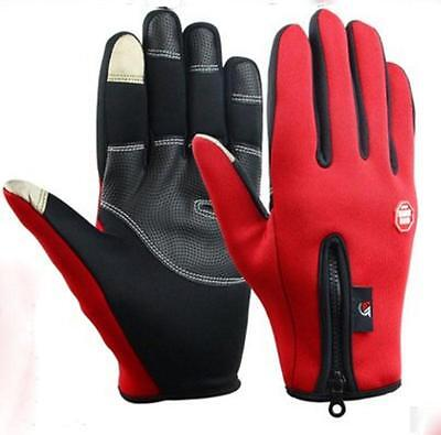 winter work gloves anti slip keep warm screen touched gloves 3colors
