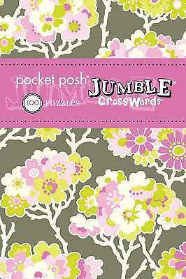 Pocket Posh Jumble Crosswords 4: 100 Puzzles, The Puzzle Society, New Book