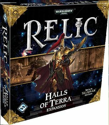 Relic Board Game - Halls of Terra Expansion - Warhammer 40K