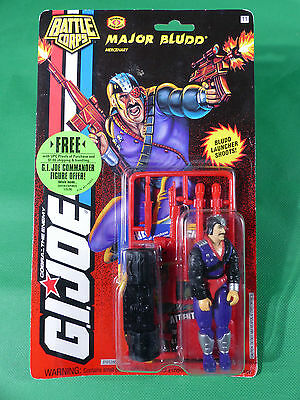 81012  GI Joe Major Bludd Action Figure  1993   MOSC NOS