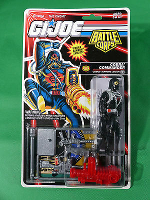 6776  GI Joe Cobra Commander  Action Figure  1992   MOSC NOS
