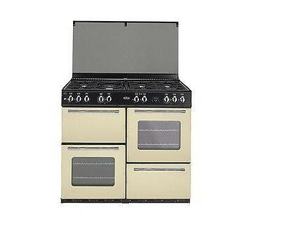 Belling Classic 100GT Cream 100cm Gas Traditionally styled Range Cooker
