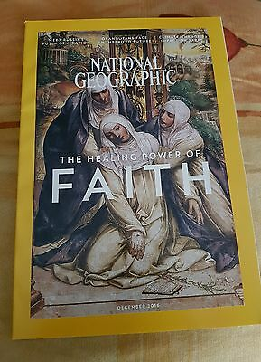 NATIONAL GEOGRAPHIC December 2016. The healing power od faith. New!