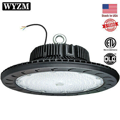 LED High Bay Light | 12500LM( 100W )Dimmable LED UFO High Bay Warehouse Lighting