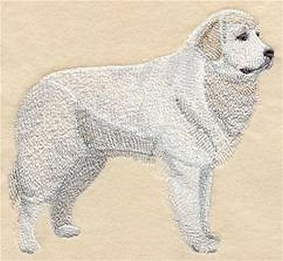 "Great Pyrenees Dog  Embroidered Patch  5.2"" x 4.8"""