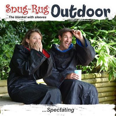 Genuine Snug-Rug Outdoor Blanket with Waterproof Outer Shell and Hat