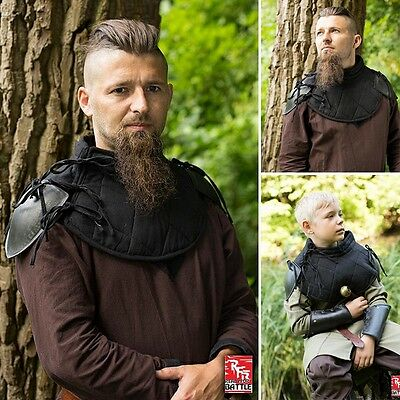 Padded Gorget With Steel Shoulders - Perfect For LARP / Reenactment