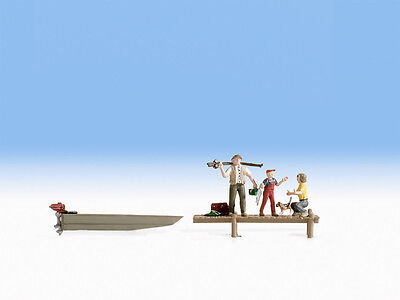 Family Fishing - N figures - Noch 37802 - free post